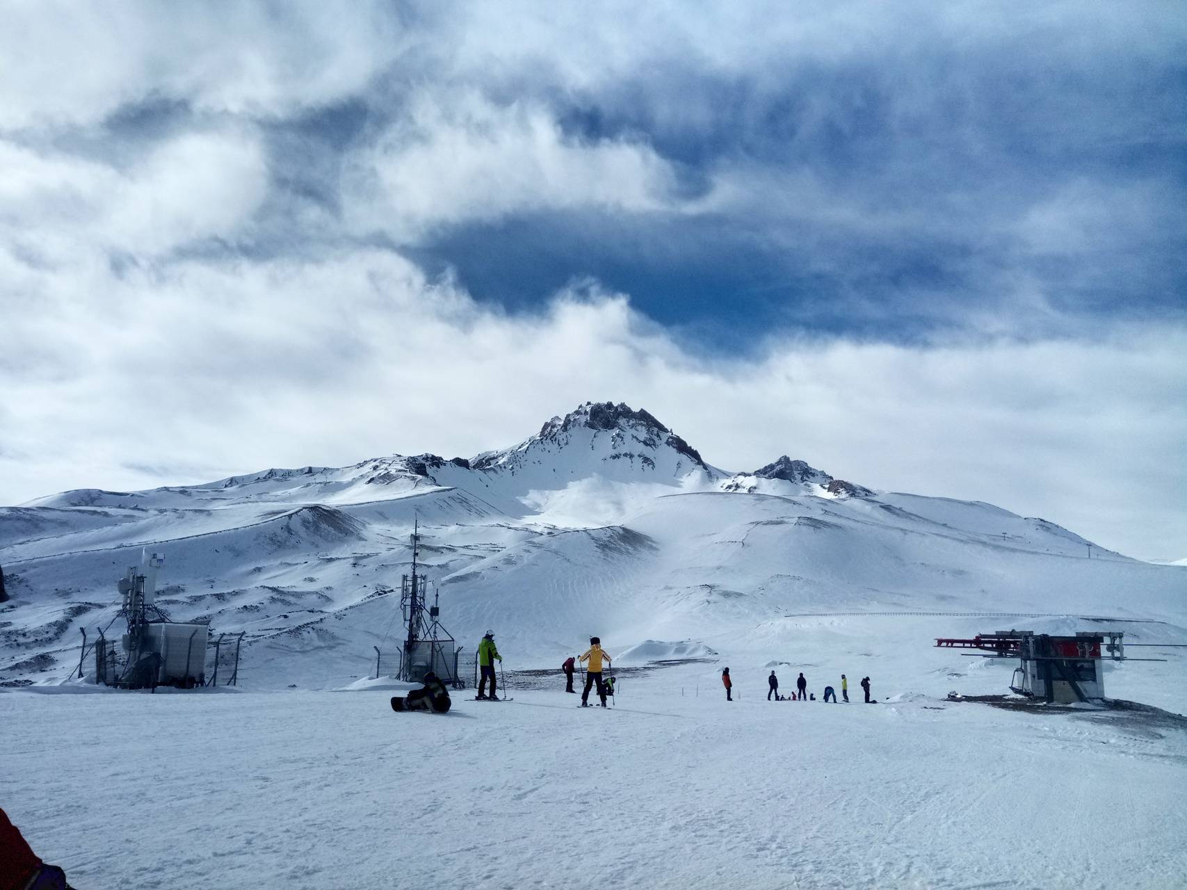 Erciyes turkey ski