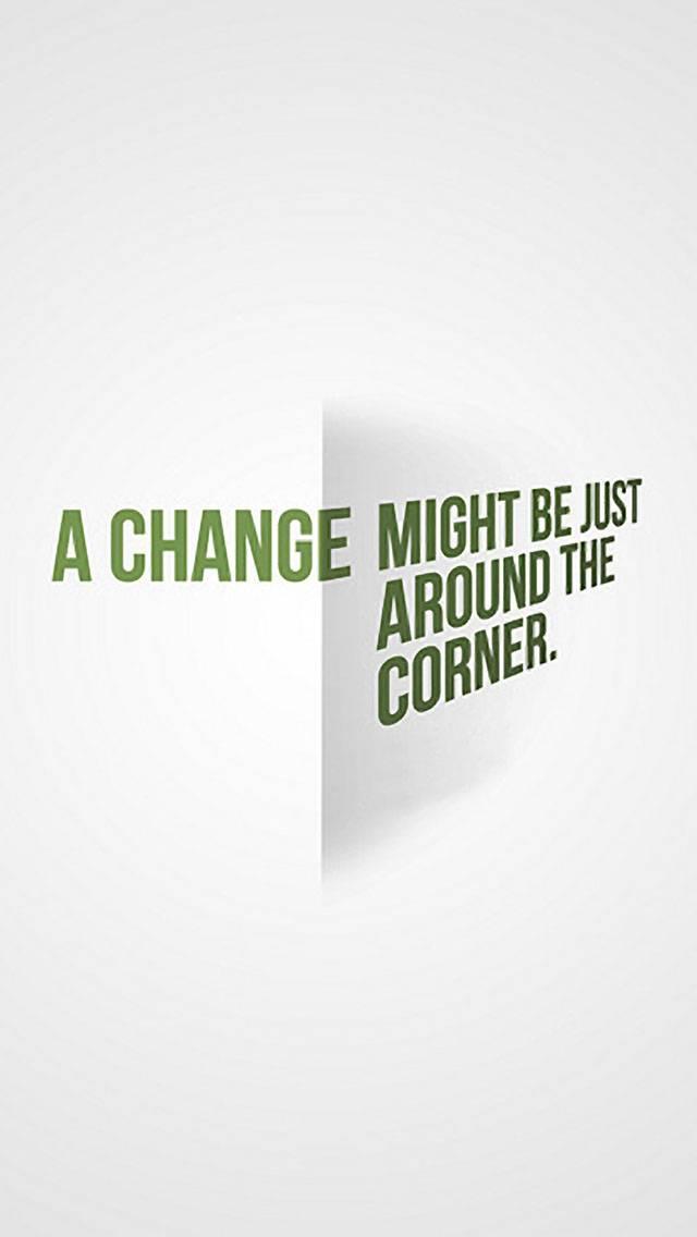 corner change