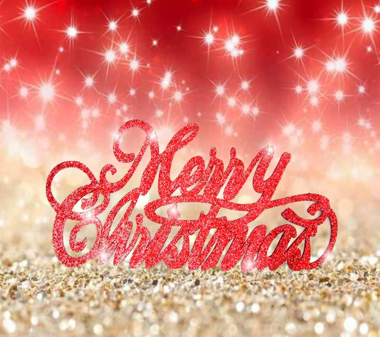 Christmas Glitter Wallpaper By SlLVER