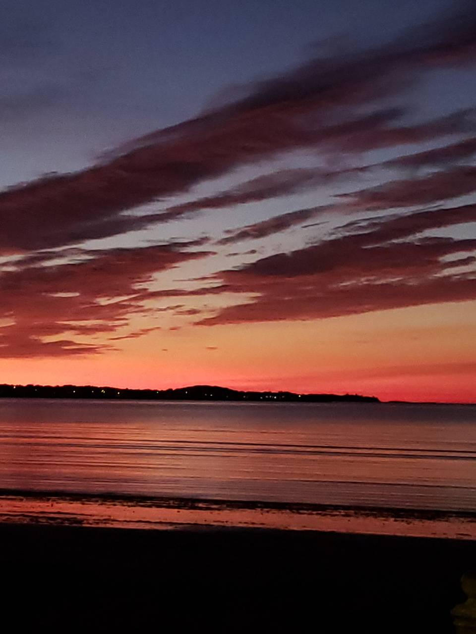 Revere beach sunset