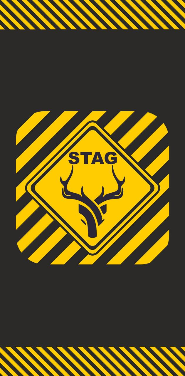 Stag sign cross