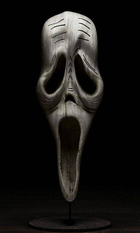 Scream In Wood Wallpaper By Maul60 02 Free On Zedge
