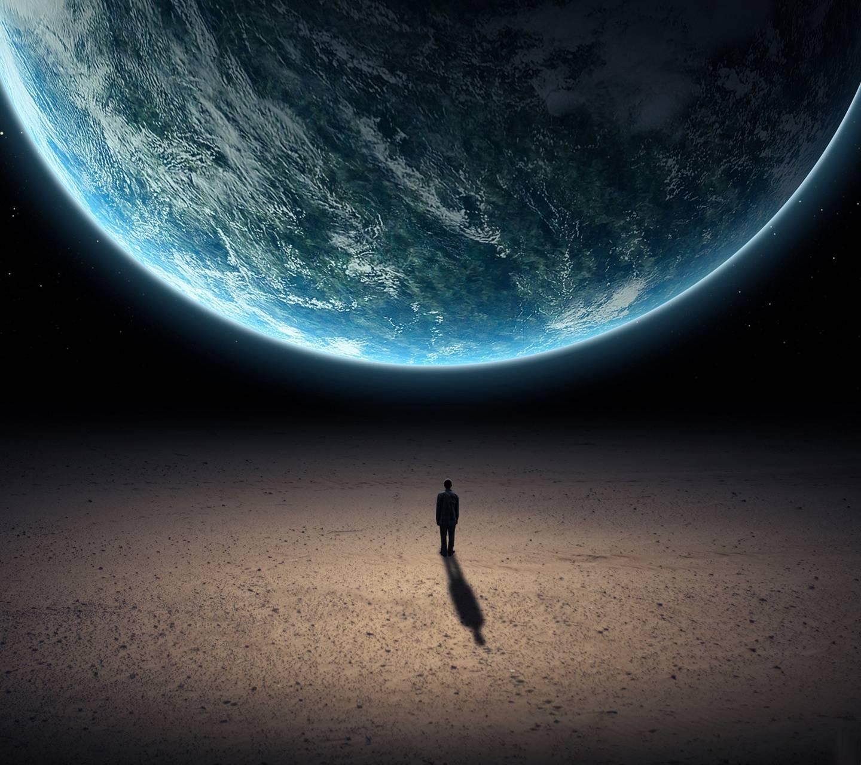 Man On The Moon Wallpaper By Shepardpl 20 Free On Zedge