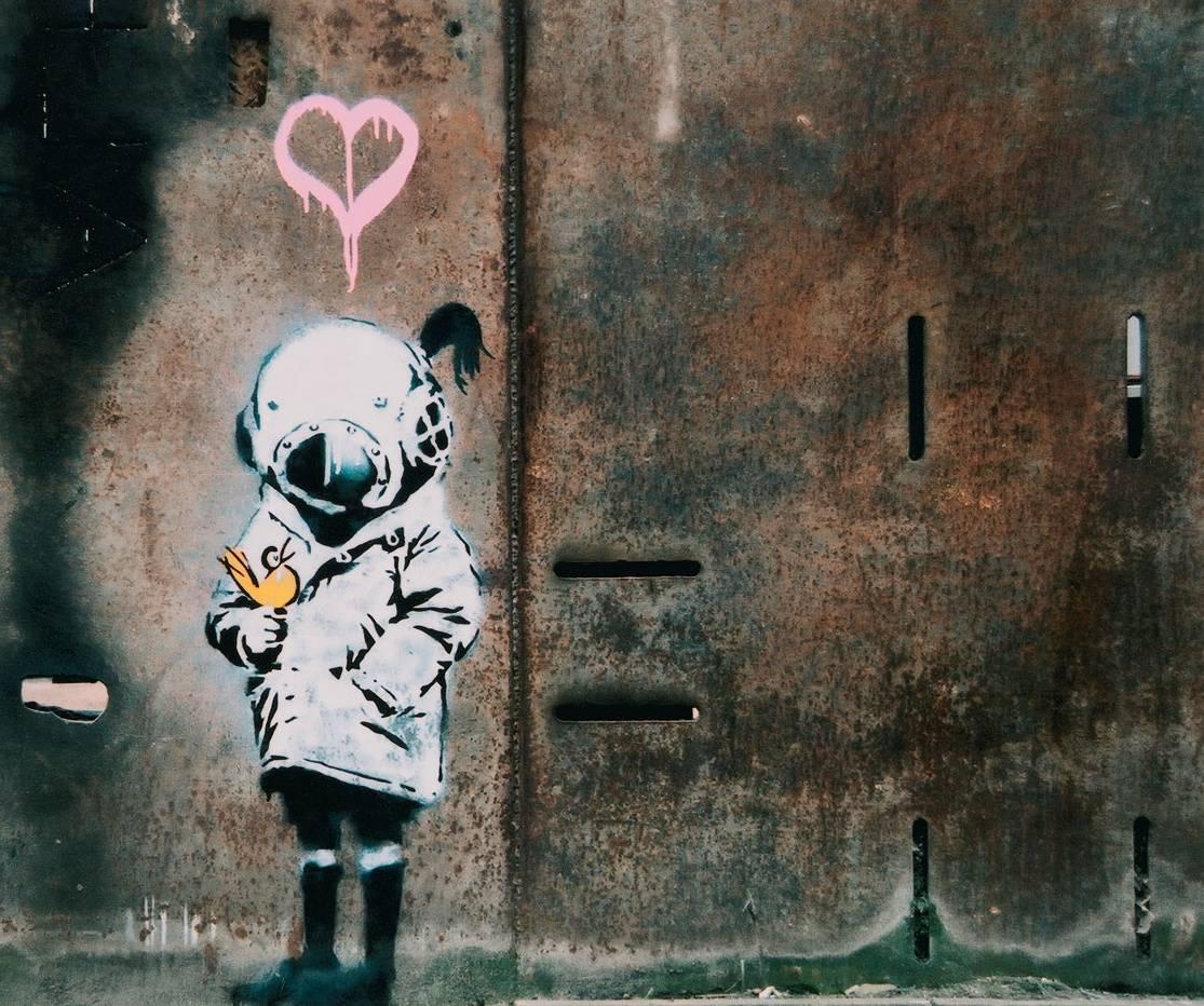 Banksy Graffity 4