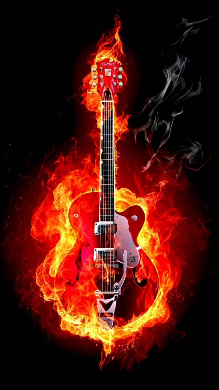 Flame Guiter