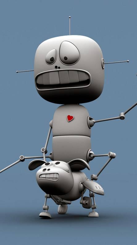Robot Riding Robot