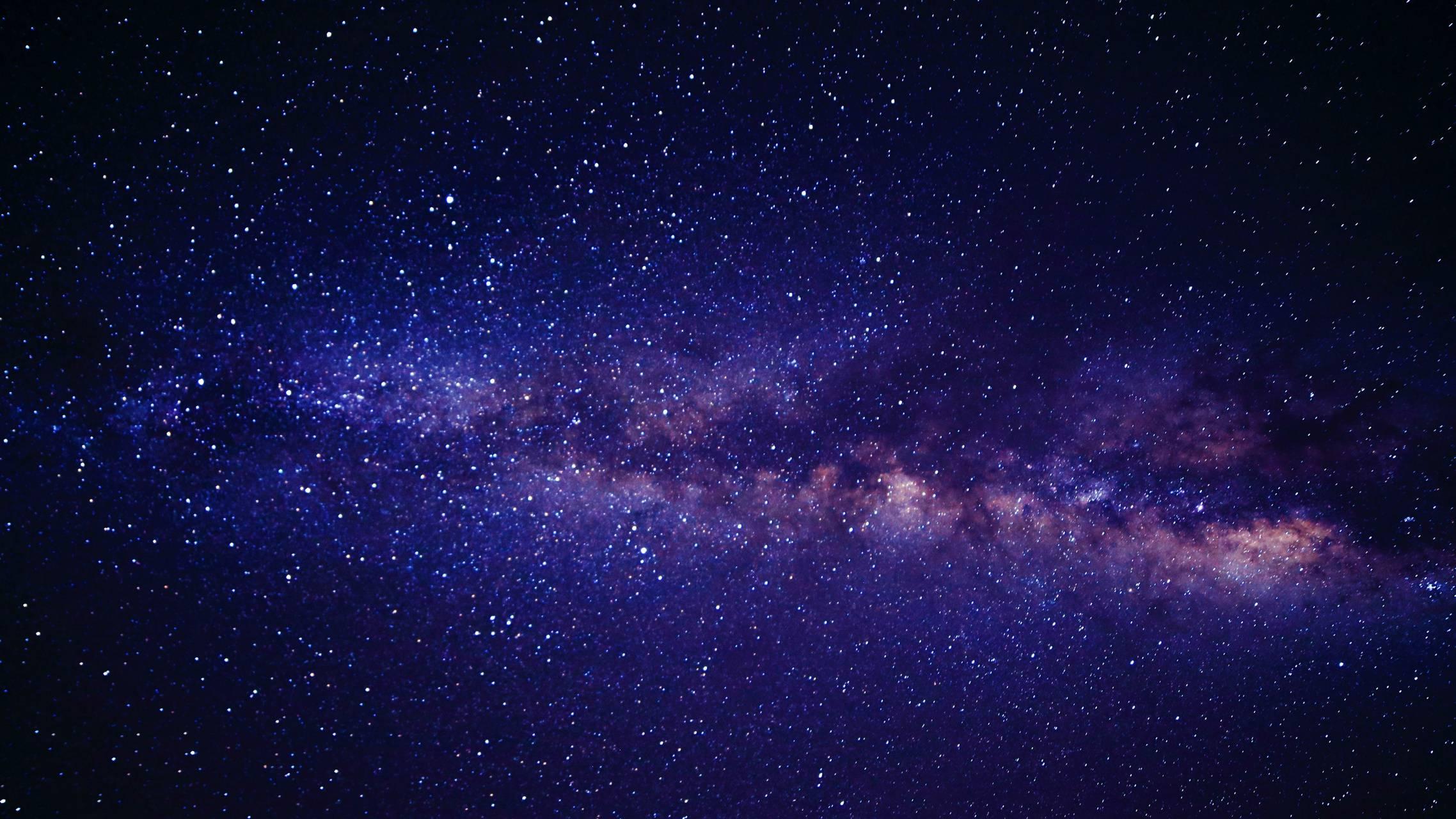 Dark Purple Galaxy