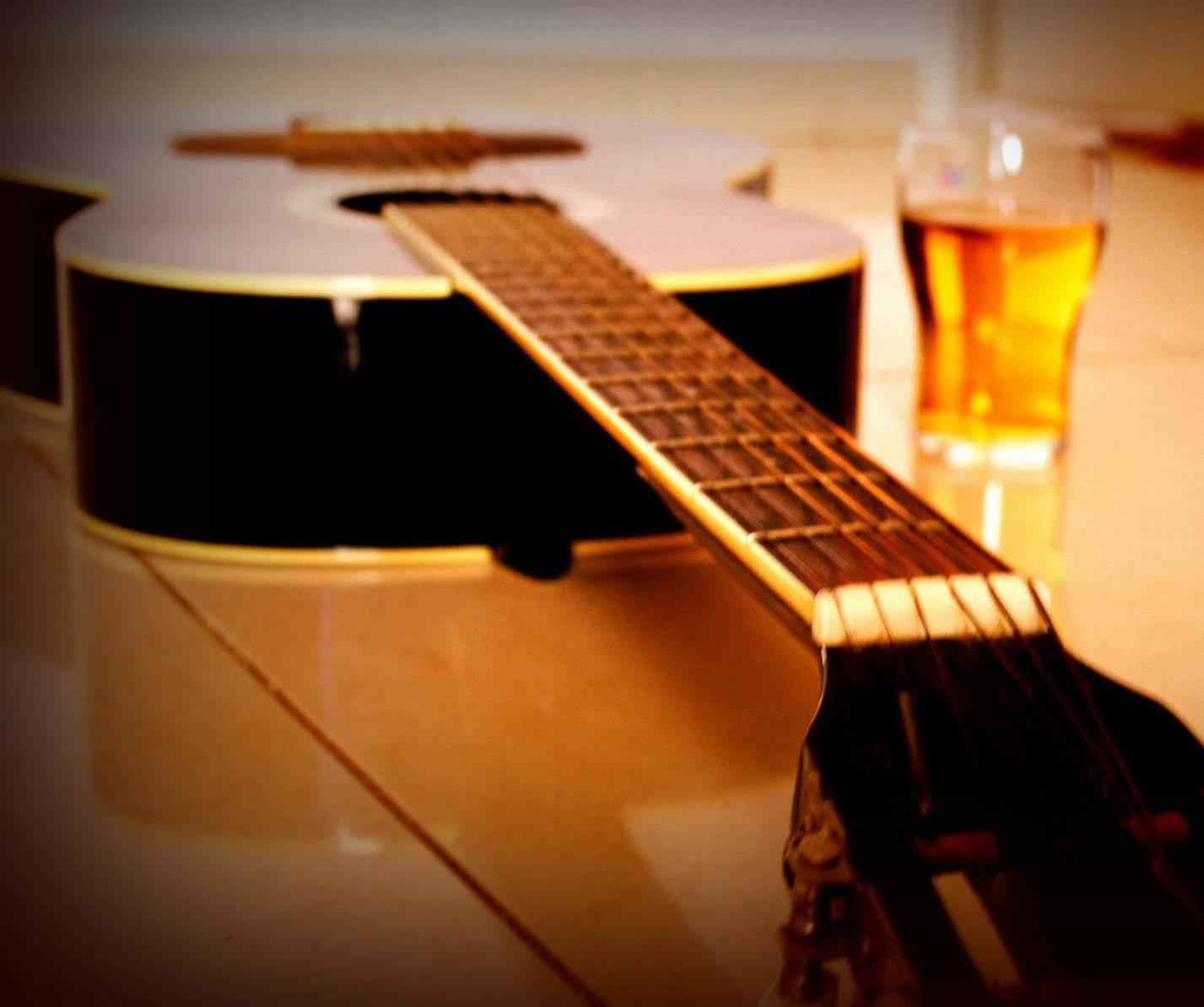 guitar n beer wallpaper by archanasharad fe free on zedge