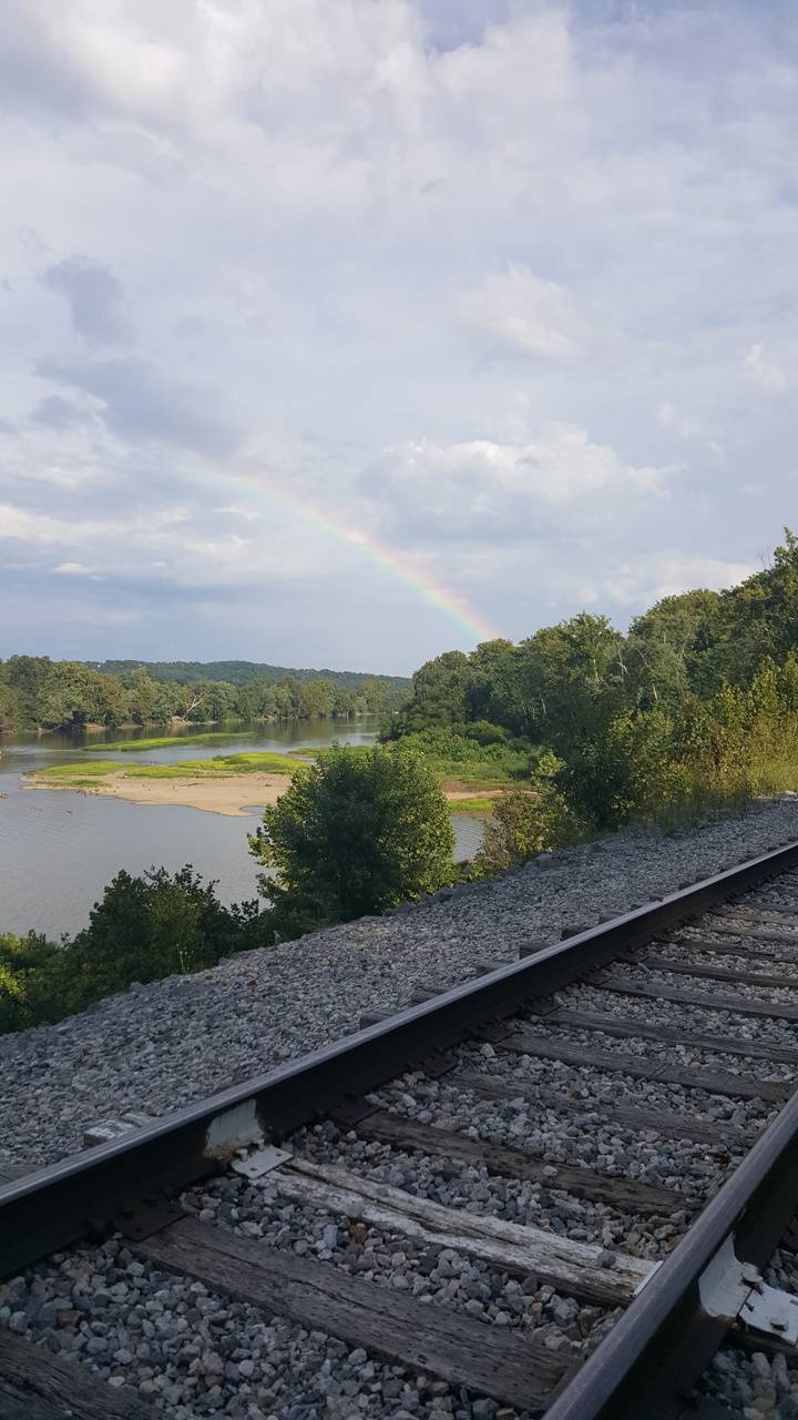 Rainbow over Railway