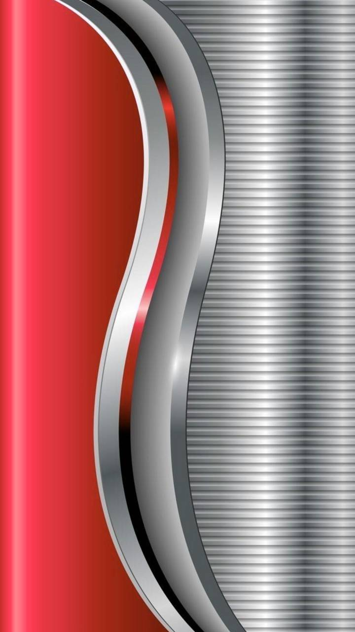 Silver And Red Wallpaper By Georgekev 64 Free On Zedge