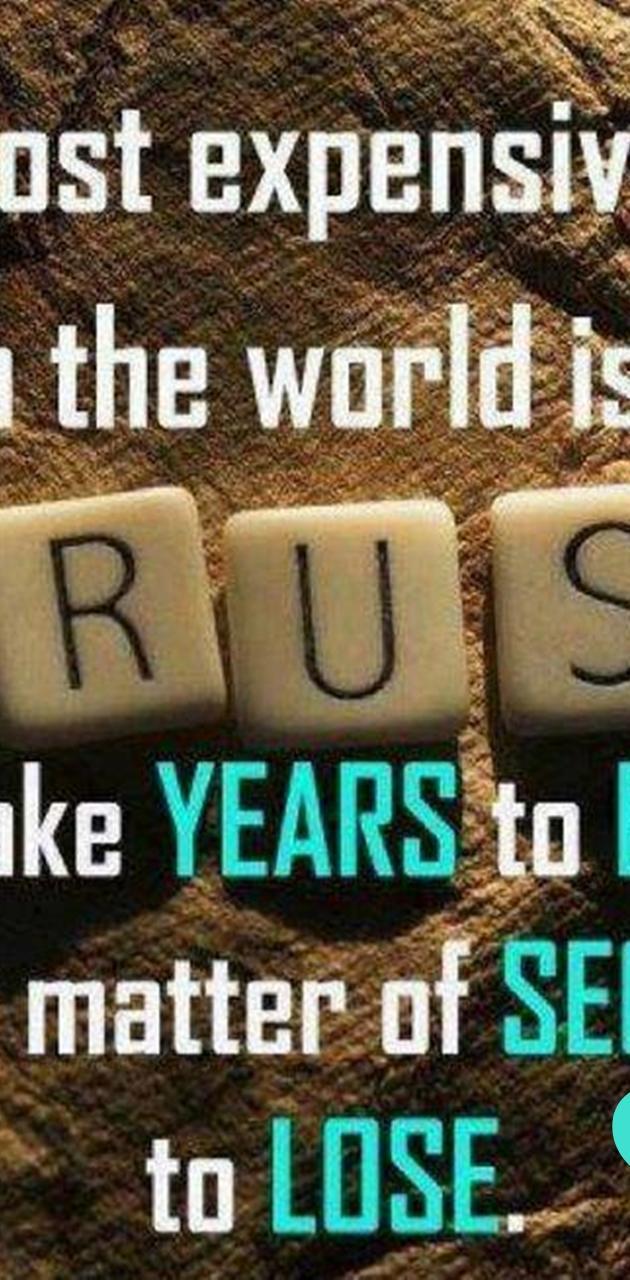 Trust Love Words