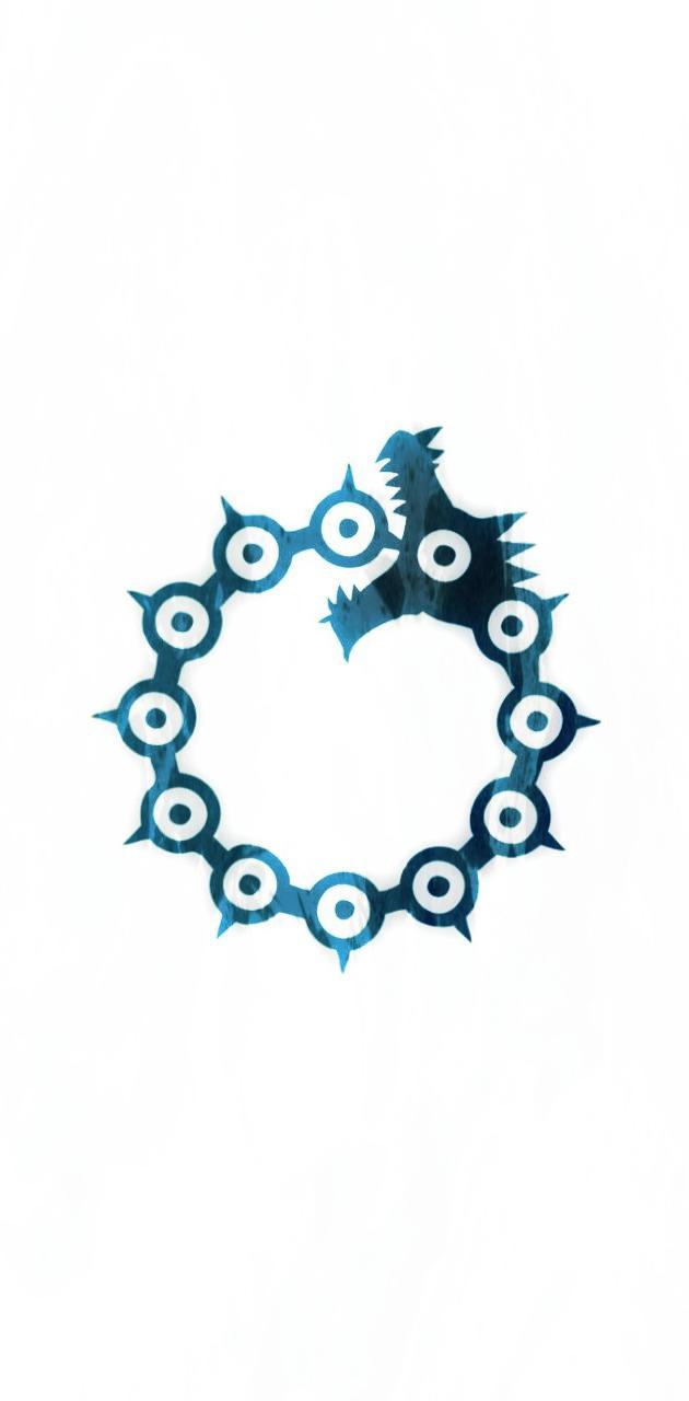 Meliodas symbol blue
