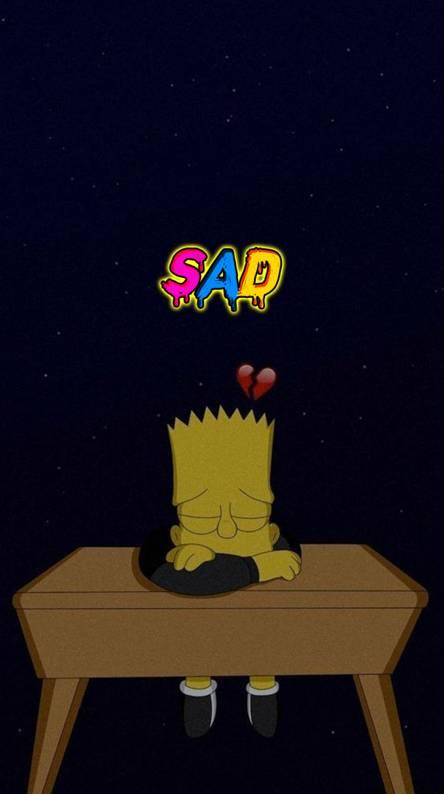 25 Best Looking For Heart Broken Sad Simpsons Drawings