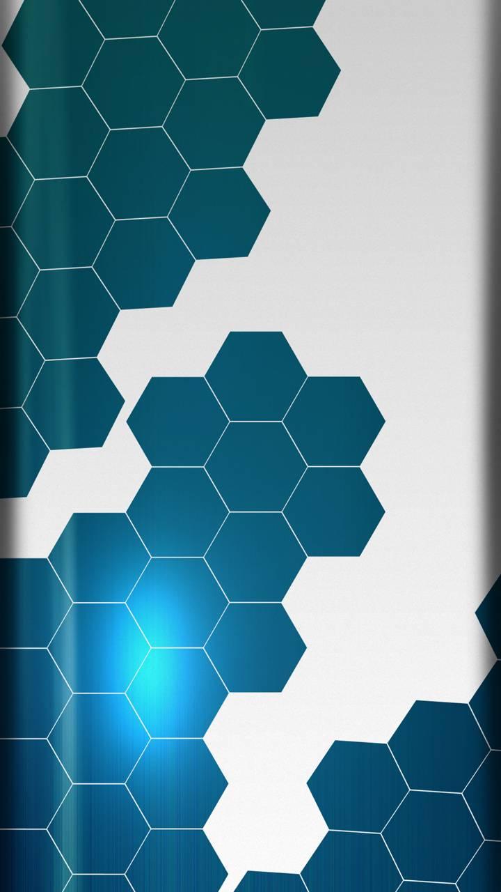 Hexagonal Metalic