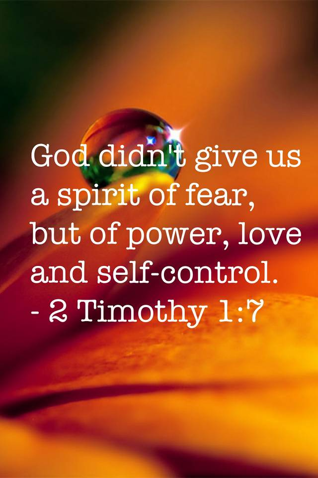 Love And Selfcontrol
