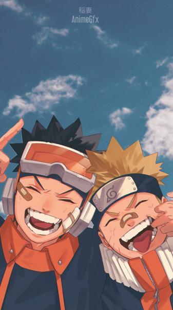 Obito and Naruto