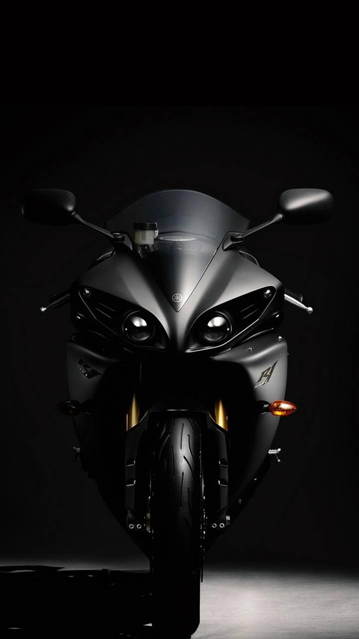 Black r1 bike