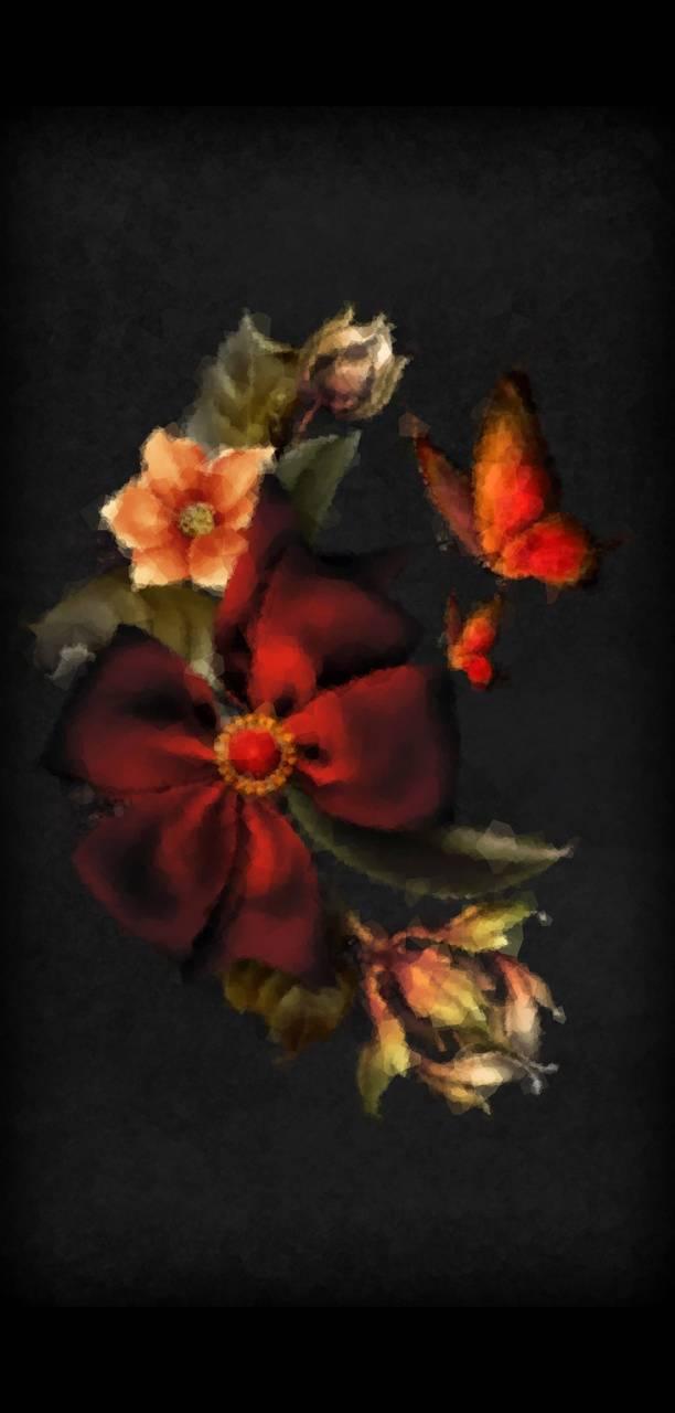 Emulsion flower