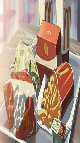 Anime McDonalds