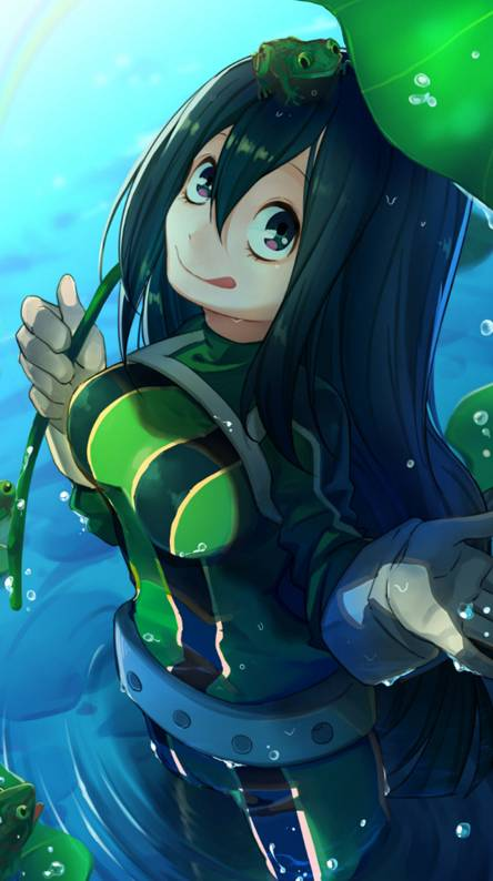 Tsuyu Asui Ringtones And Wallpapers Free By Zedge