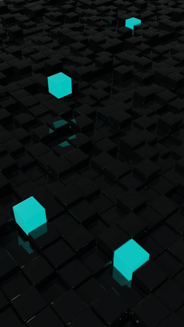 Cyan Cubes