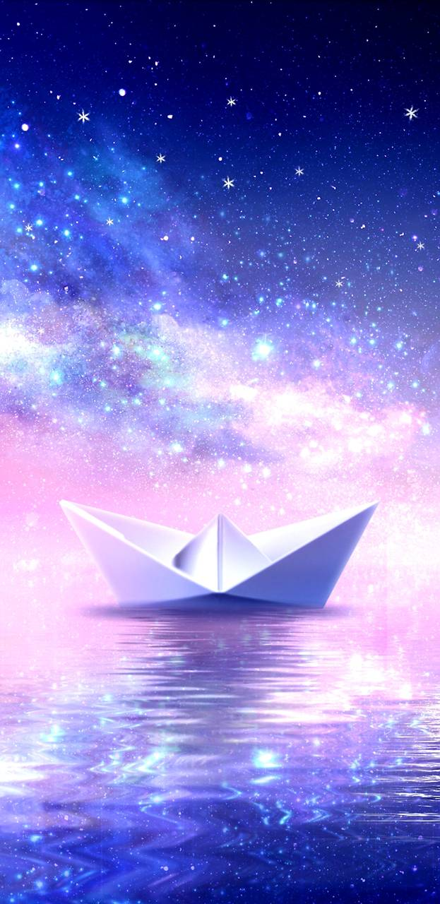 GalaxyPaperBoat