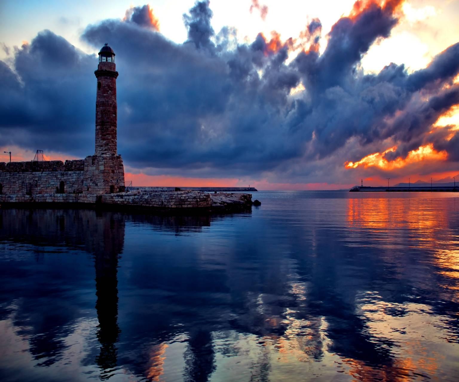 Evening Sea And Sky