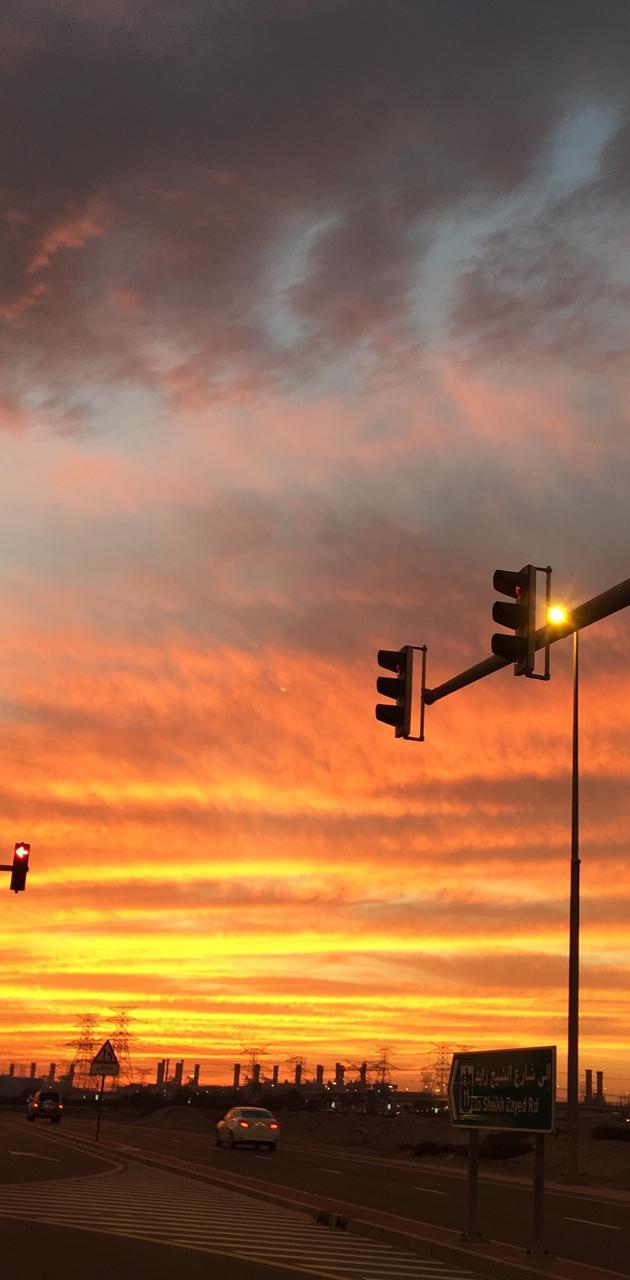 Traffic Night Lights