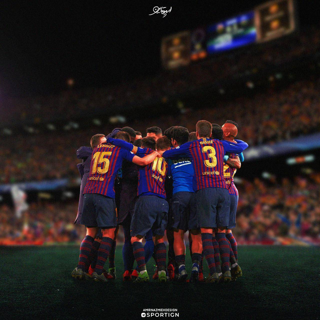 FC Barcelona Wallpaper By ElnazTajaddod