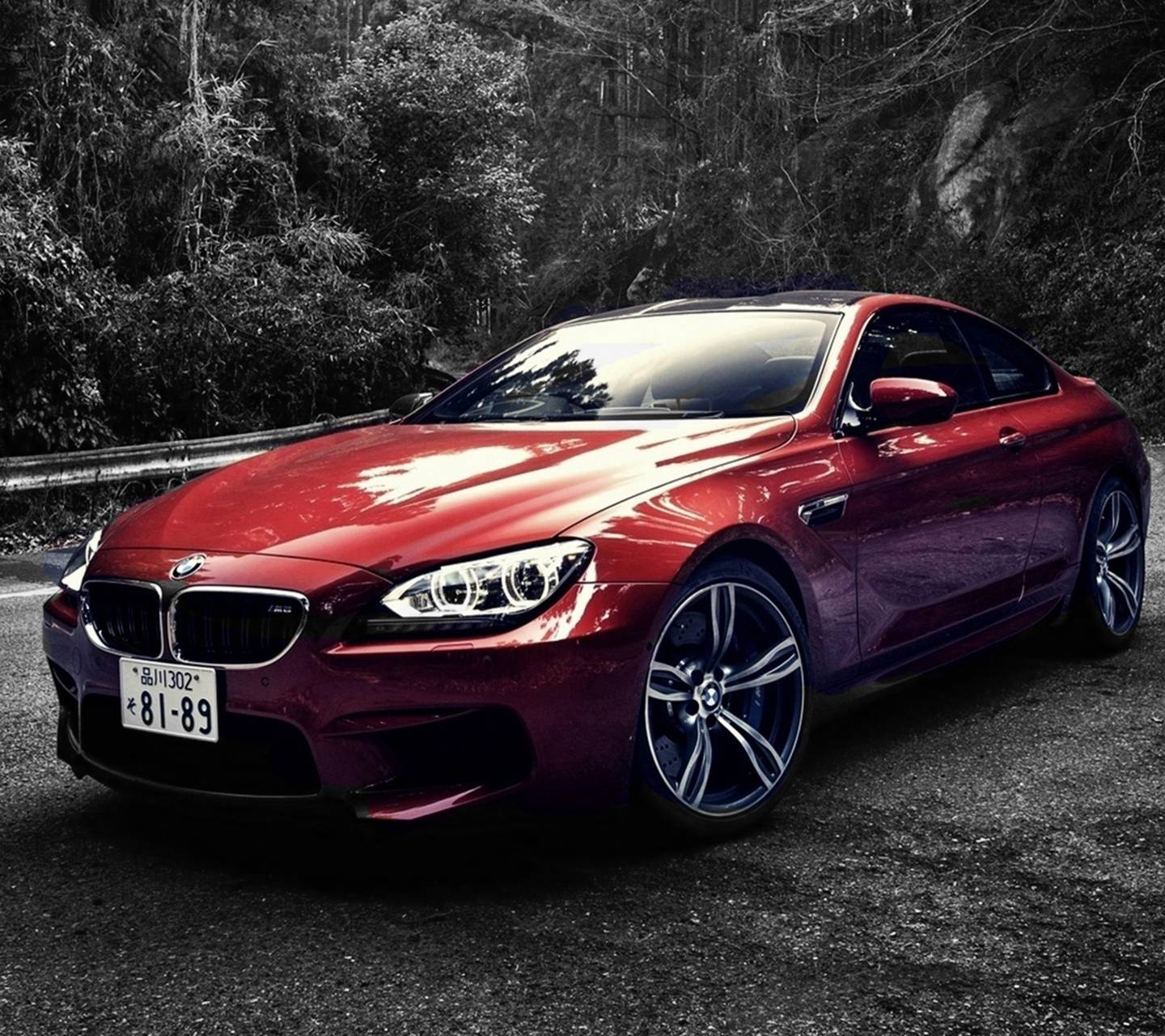 red bmw m6
