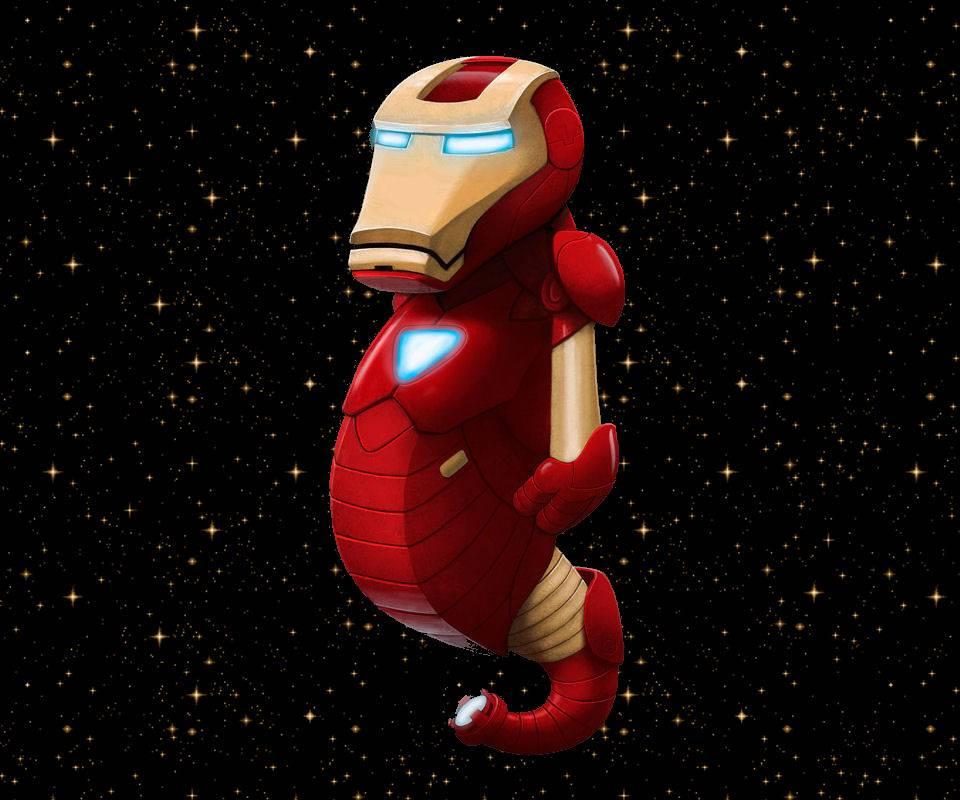 Iron Seahorse Man
