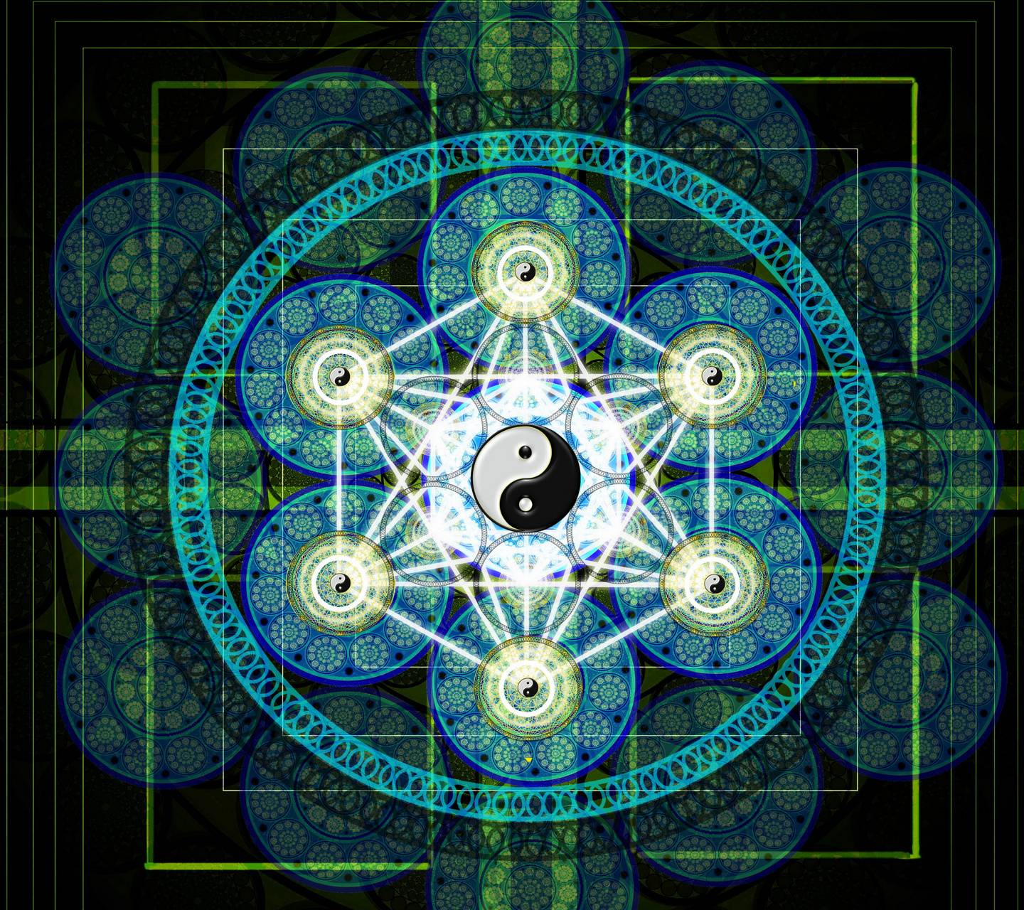 Sacred Geometry wallpaper by x_tive