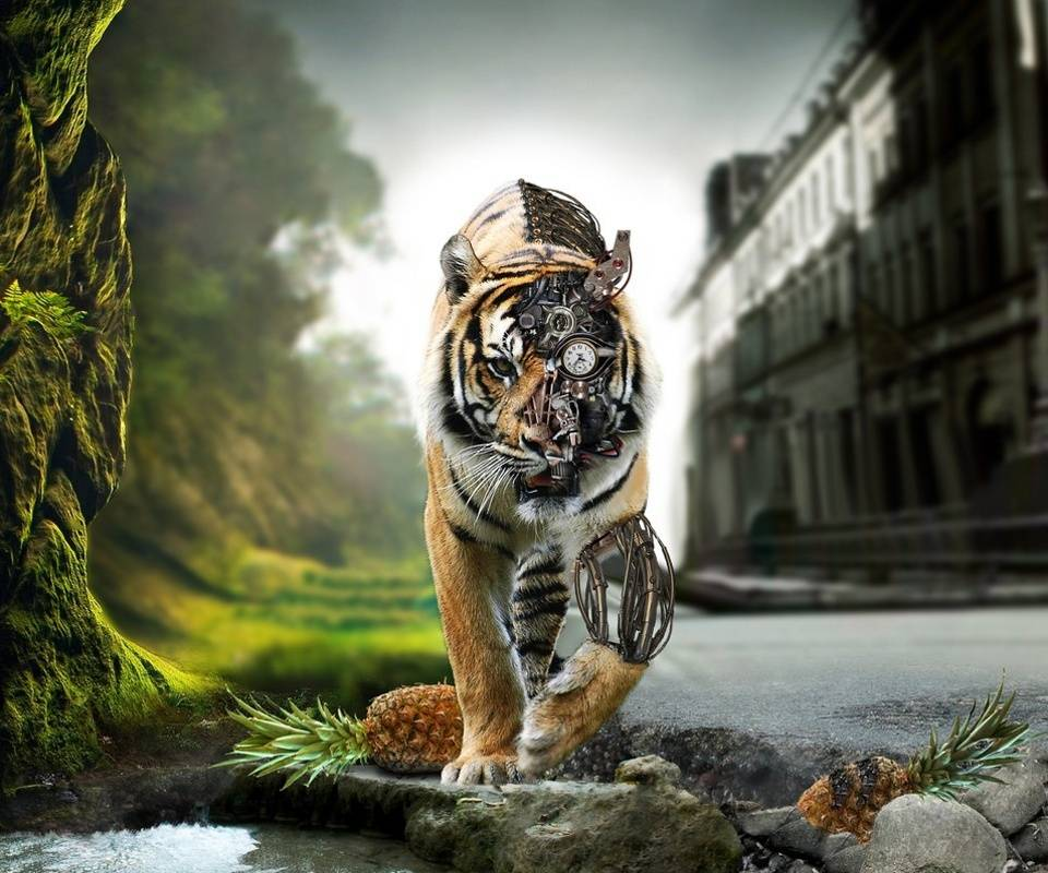 Cyborg Tiger