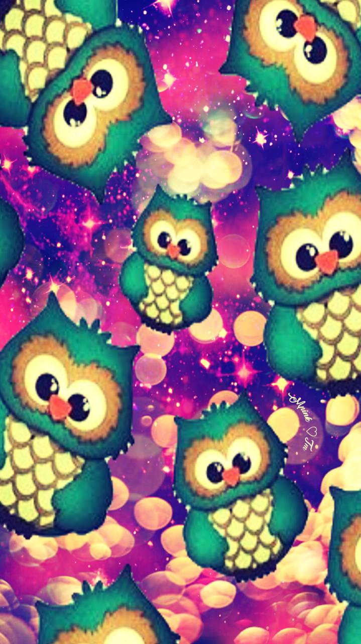 Cute Owls Wallpaper by mpink27 0d Free on ZEDGE™