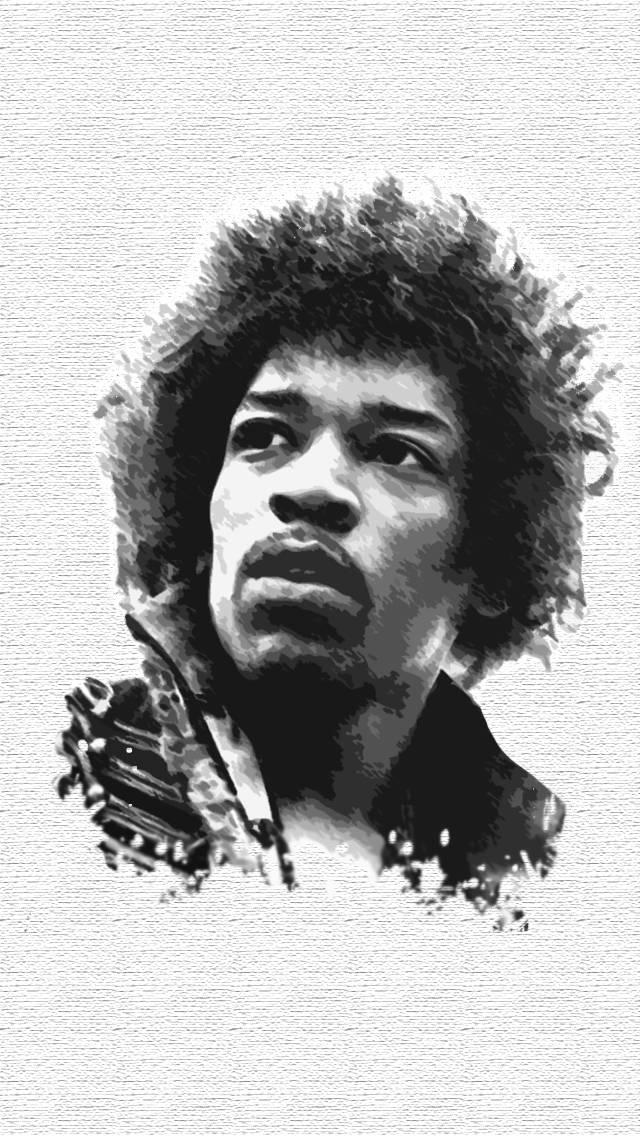 Jimi Hendrix IPhone