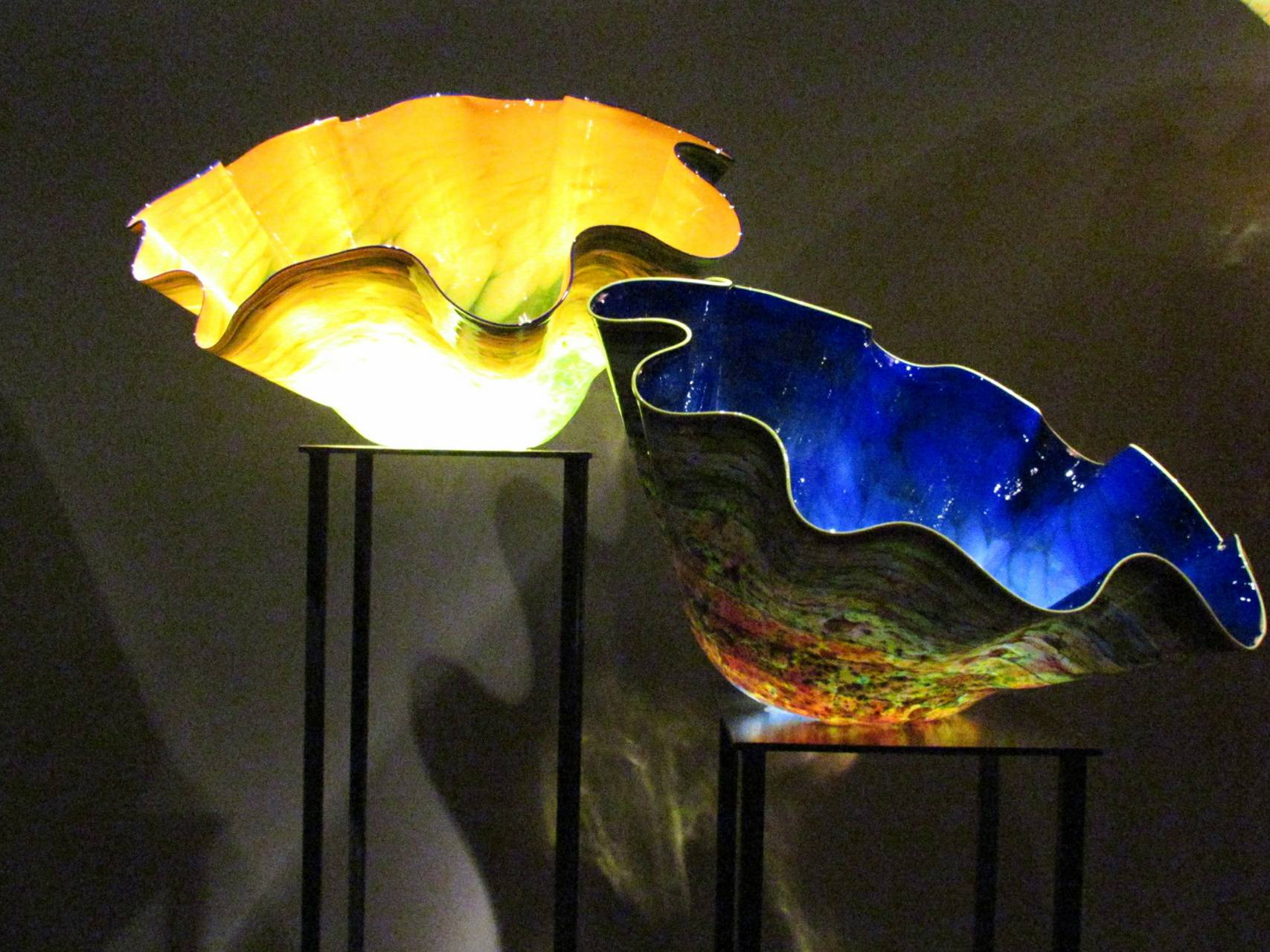 Chihuly blue green