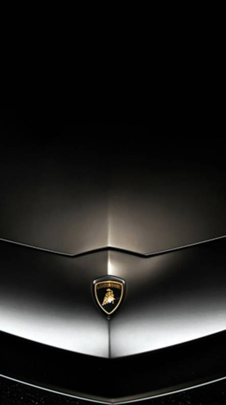 Lamborghini Black Logo Wallpapers