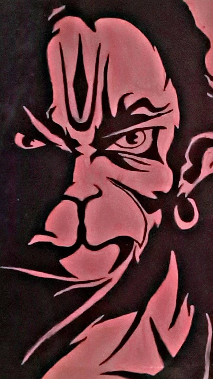 Hanuman artby me