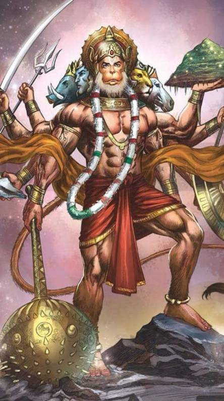 Panchmukhi Hanuman Hd Wallpaper