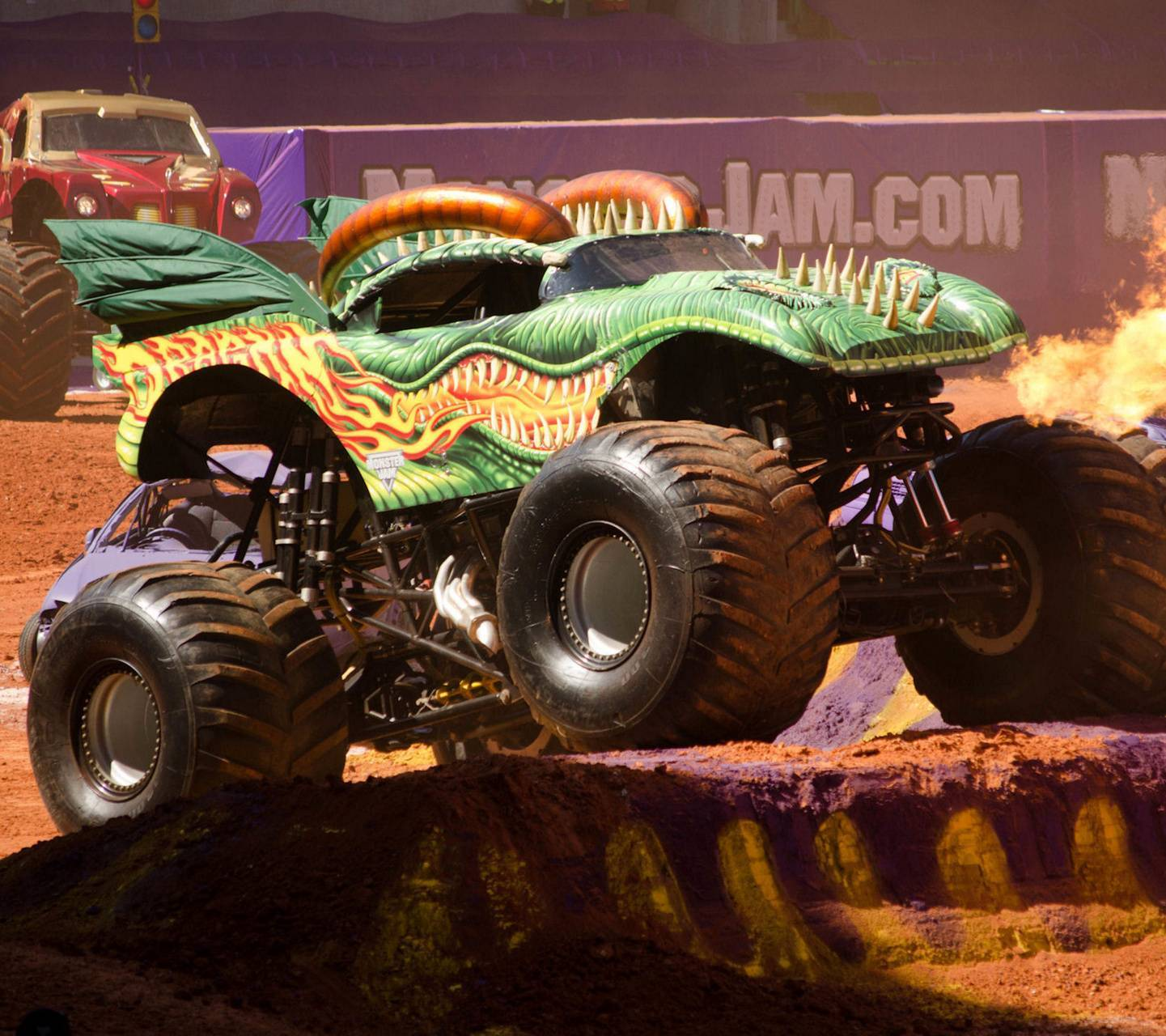 Dragon Monster Truck Wallpaper By Nicolotamion E6 Free On Zedge