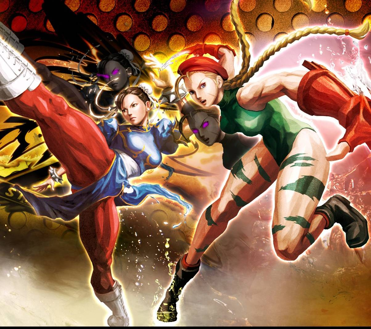 Cammy Vs Chun Li   格闘ゲーム, 格闘, 対戦