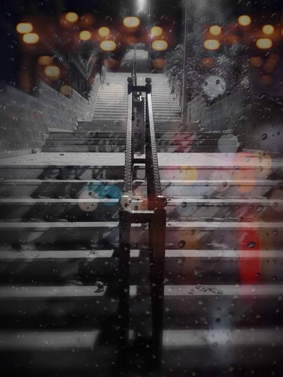 Dark Stairs City