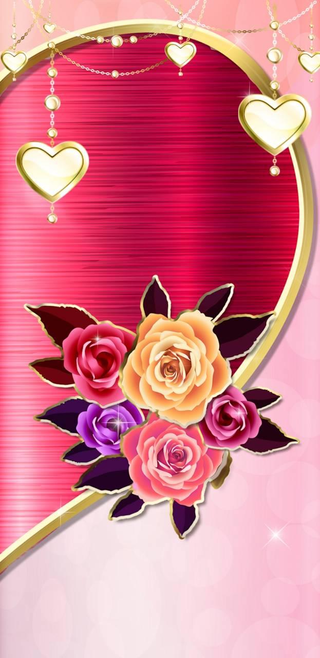 Metal Rose Of Love