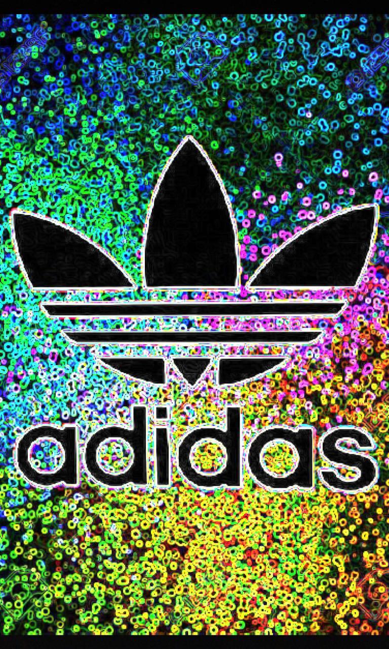 Rainbow Adidas