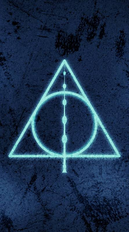 Deathly Hallows Blue