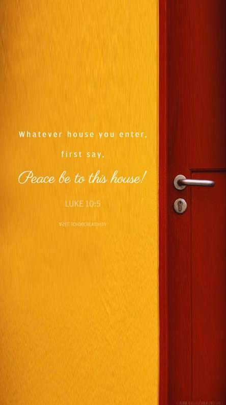 Luke 10 5