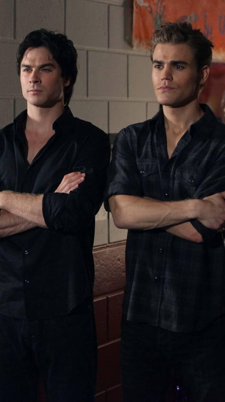 Damon And Stefan