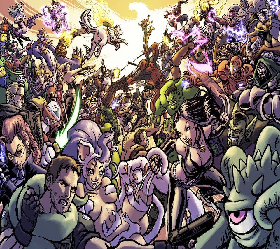 Marvel Vs Capcom 3 Wallpaper By Ch3l1no 58 Free On Zedge