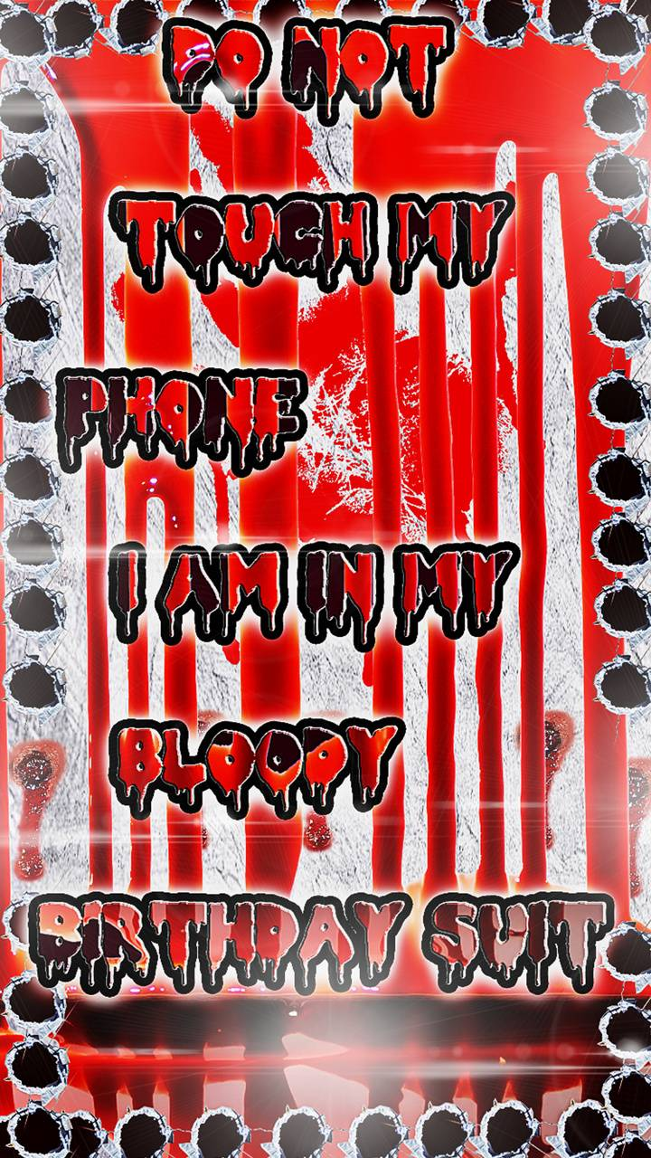 Bloody Phone Wallpaper By Blacklightning388 53 Free On