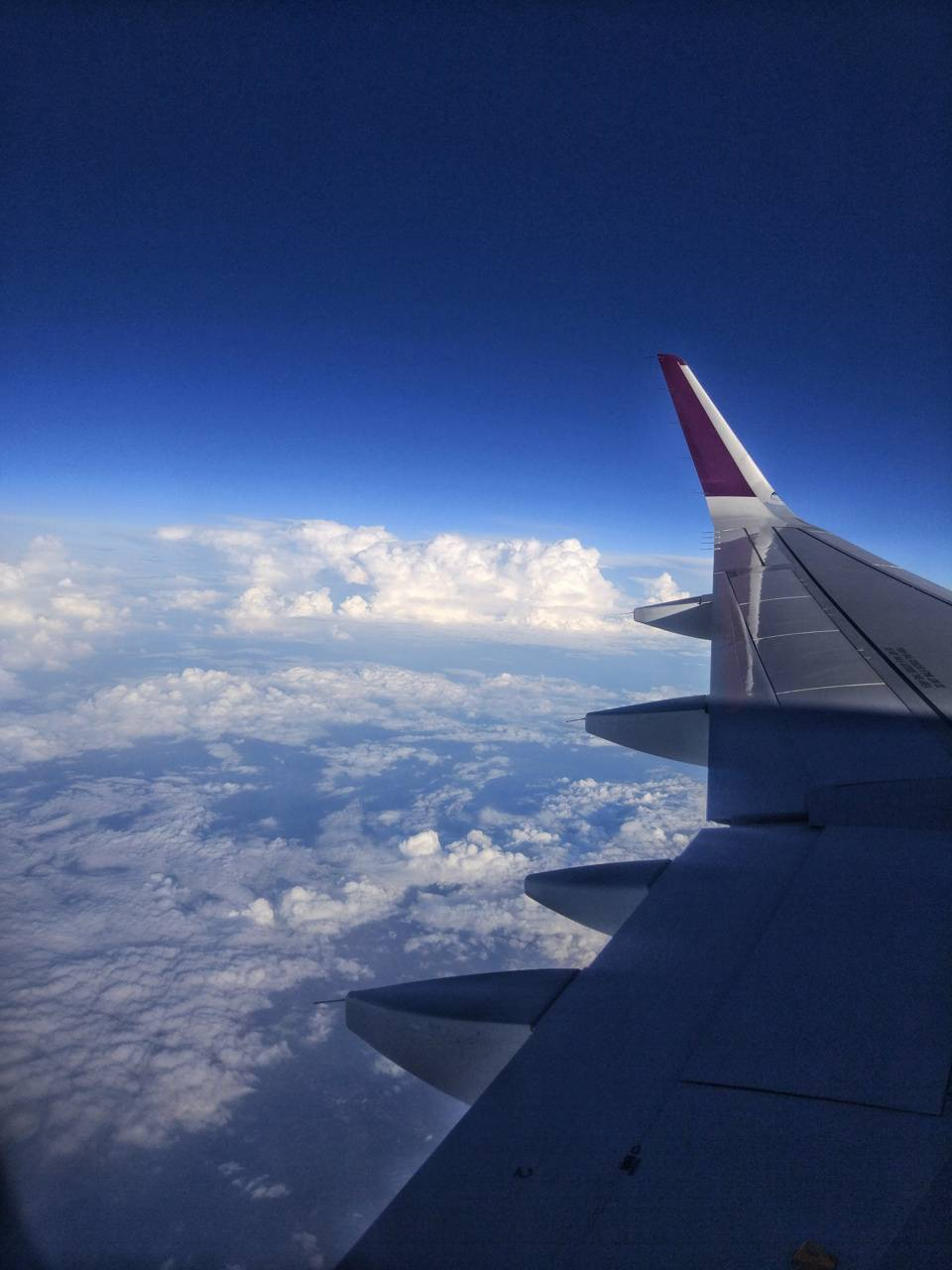 Airplane fin